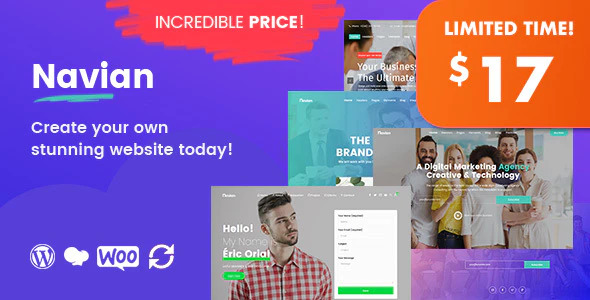 [Nulled] Navian v1.2.7 - Multi-Purpose Responsive WordPress Theme