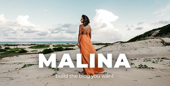 [Nulled] Malina v2.2.0 - Personal WordPress Blog Theme