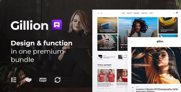 [Nulled] Gillion v4.0 - Multi-Concept Blog Magazine & Shop WordPress Theme