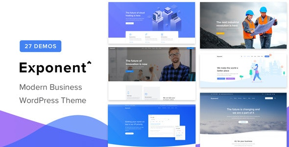[Nulled] Exponent v1.2.9.0 - Modern Multi-Purpose Business Theme
