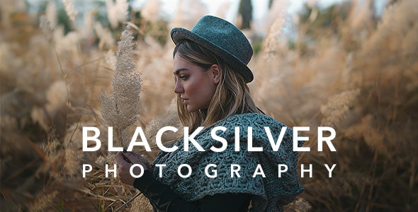 [Nulled] Blacksilver v8.5.3 - Photography Theme for WordPress