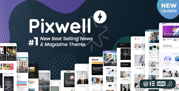 [Nulled] Pixwell v7.0 - WordPress Modern Magazine