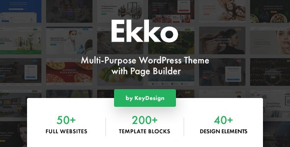 [Nulled] Ekko v2.6 - Multi-Purpose WordPress Theme with Page Builder