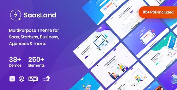 [Nulled] SaasLand v3.3.4 - MultiPurpose Theme for Saas & Startup WordPress