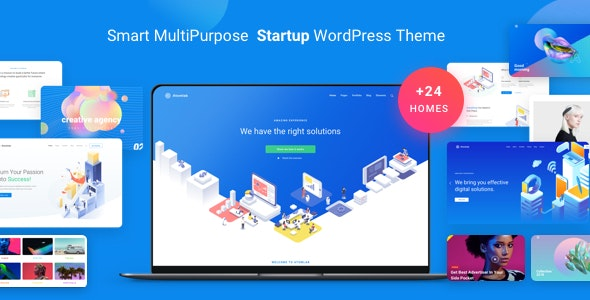 [Nulled] Atomlab v1.9.0 - Multi-Purpose Startup WordPress Theme