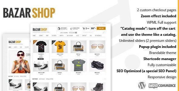 [Nulled] Bazar Shop v3.20.0 - MultiPurpose e-Commerce WordPress Theme