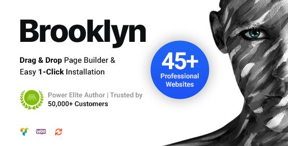[Nulled] Brooklyn v4.9.6.6 - Creative Multi-Purpose Responsive WordPress Theme
