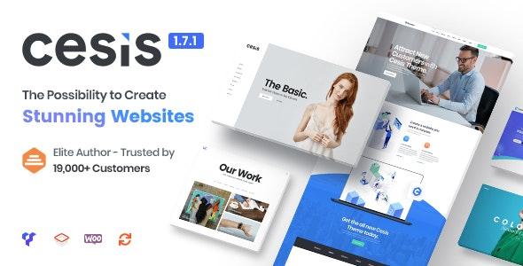 [Nulled] Cesis v1.8.7.20 - Responsive Multi-Purpose WordPress Theme