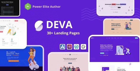 [Nulled] Deva v1.0.5 - 30+ Landing Pages WordPress Theme