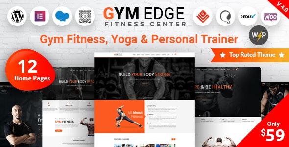 [Nulled] Gym Edge v4.2.2 - Gym Fitness WordPress Theme