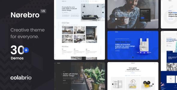 [Nulled] Norebro v1.5.3 - Creative Multipurpose WordPress Theme