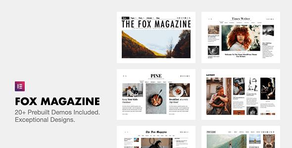 [Nulled] The Fox v4.6.7.1 - Minimal WordPress Blog Magazine Theme