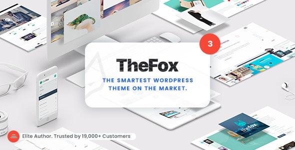 [Nulled] TheFox v3.9.9.9.19 - Responsive Multi-Purpose WordPress Theme