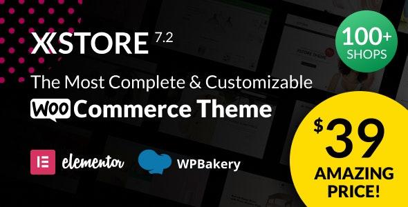 [Nulled] XStore v7.2.7 - Responsive MultiPurpose WooCommerce WordPress Theme