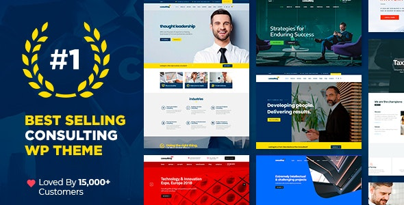 [Nulled] Consulting v6.1.1 - Business, Finance WordPress Theme